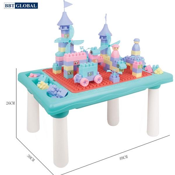 Bộ bàn chơi LEGO đa năng kèm 61 chi tiết xếp hình 669-40