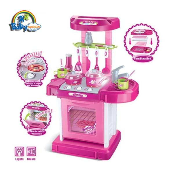Bộ đồ chơi nấu bếp cho bé Kitchen Set 008-58