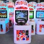 Máy chơi đua xe ô tô điện tử khu vui chơi GAME-6021