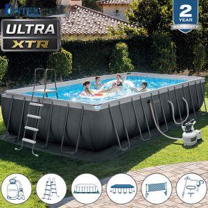 Bể bơi khung kim loại chịu lực 7m32 có máy lọc INTEX 26368