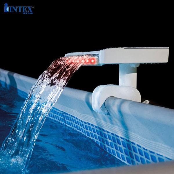 Máy thác nước nhân tạo có đèn LED 3 màu INTEX 28090
