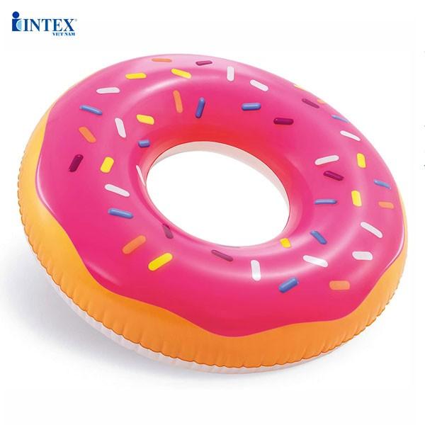 Phao bơi khổng lồ donut 99cm INTEX 56256