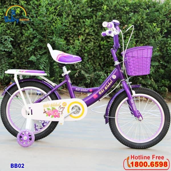 xe đạp cho bé gái BB02