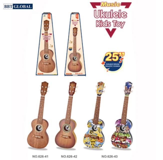Đồ chơi đàn âm nhạc Ukulele cỡ 65cm cho bé 626-42