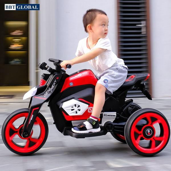 Xe máy điện trẻ em phân khối lớn BBT-3100 | Màu đỏ