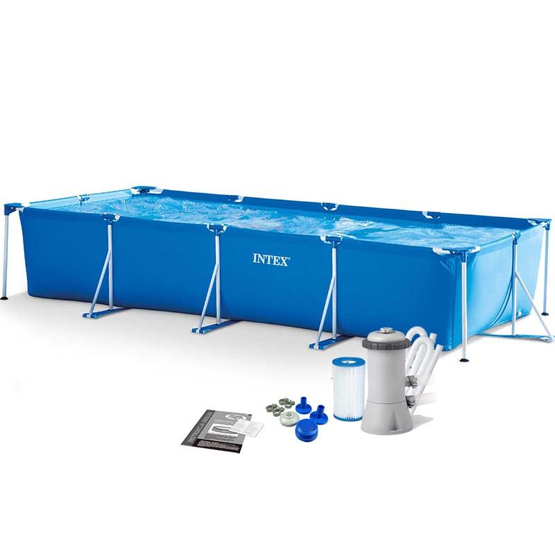 Bể bơi khung kim loại 4.5m*2.2m INTEX 28273