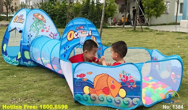 Đồ chơi trẻ em Hà Nội | Lều 3 khoang 1384