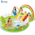 Bể bơi phao cầu trượt có vòi phun mưa INTEX 57154