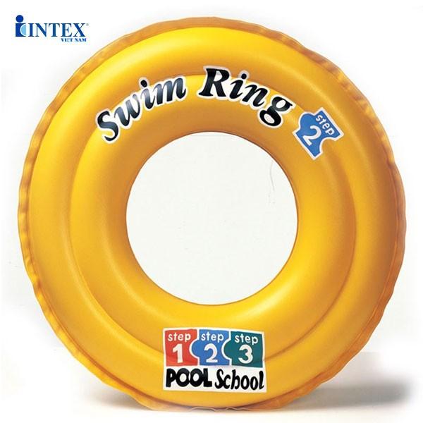 Phao bơi step 1 2 3 cho bé đường kính 51cm INTEX 58231