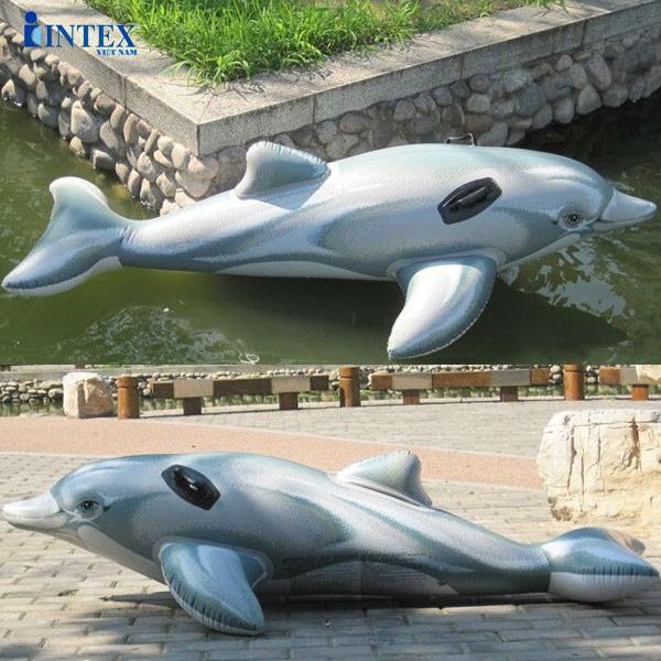 Phao bơi cá heo INTEX 58535