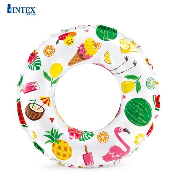 Phao vòng đáng yêu cho bé 61cm INTEX 59241