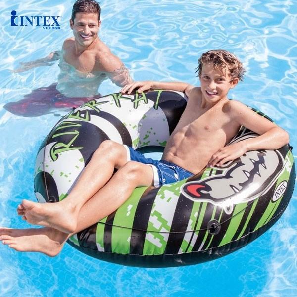 Phao bơi tròn 122cm INTEX 68209