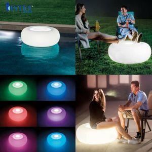 Ghế bơm hơi mẫu mới đèn LED 7 màu INTEX 68697