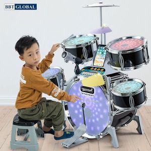 Bộ trống đồ chơi kèm đàn cho bé cỡ lớn nhiều chức năng Q531A