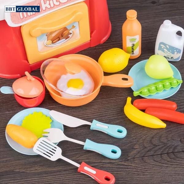 Đồ chơi bếp nấu ăn cho bé 26 chi tiết 889-174