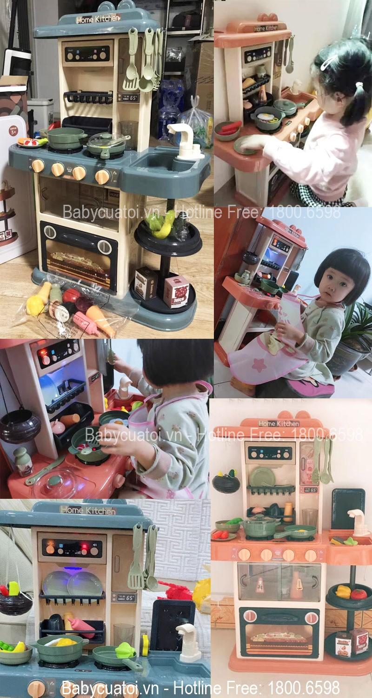 Bộ đồ chơi nấu ăn 43 chi tiết 889-184