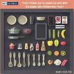 Đồ chơi nấu ăn cao cấp 72cm 43 chi tiết xanh 889-183