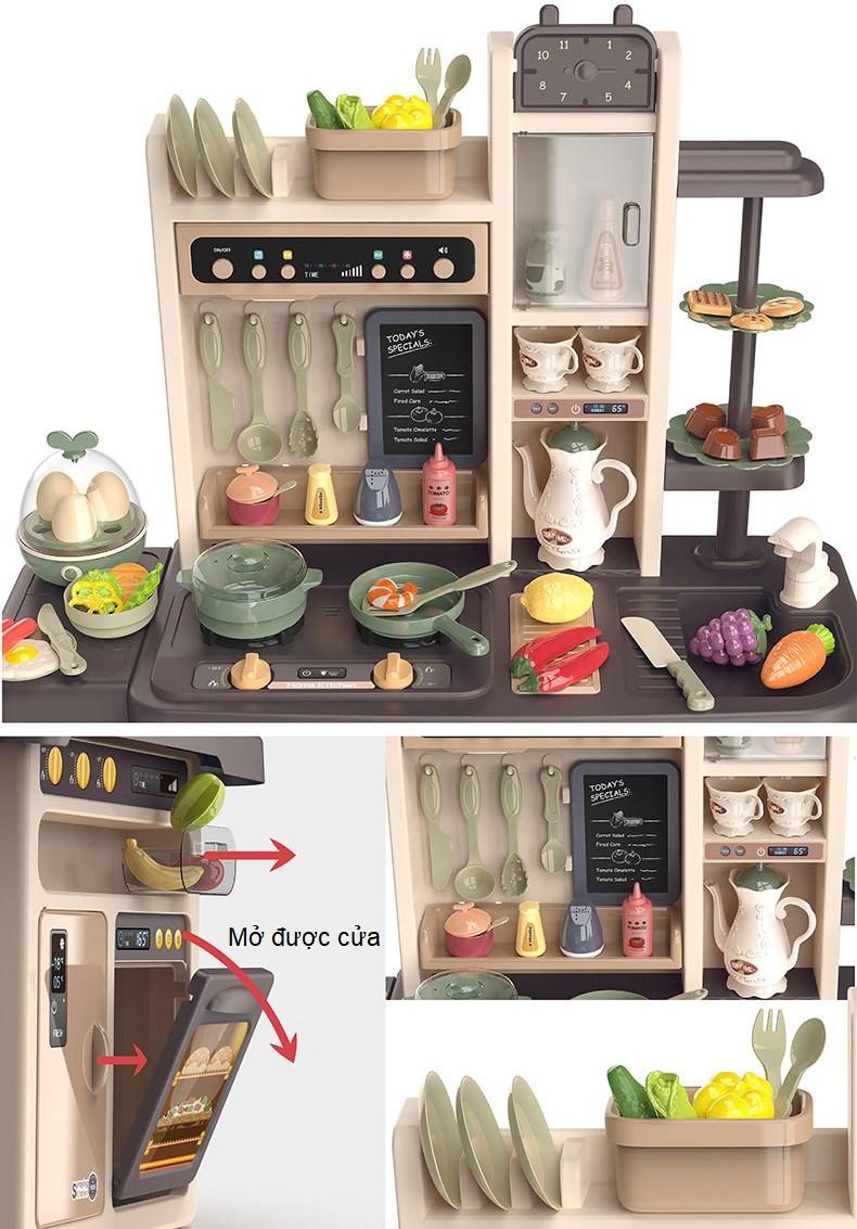 Bộ đồ chơi nấu ăn cỡ đại 65 chi tiết 889-211