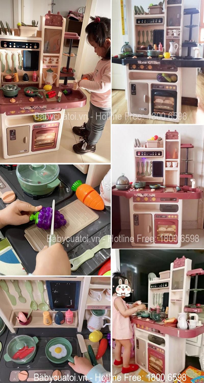Bộ đồ chơi nấu ăn cỡ đại 65 chi tiết 889-211 | Feecback