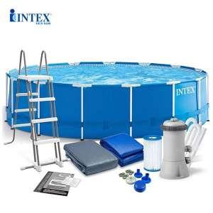 Bể bơi khung kim loại tròn 457х122cm intex 28242