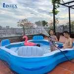 Bể bơi phao Salon 2m29 hình vuông INTEX 56475
