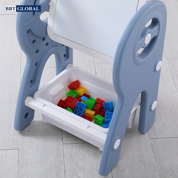 Bộ bảng vẽ kèm ghế ngồi đa năng cho bé BBT GLOBAL BV6601