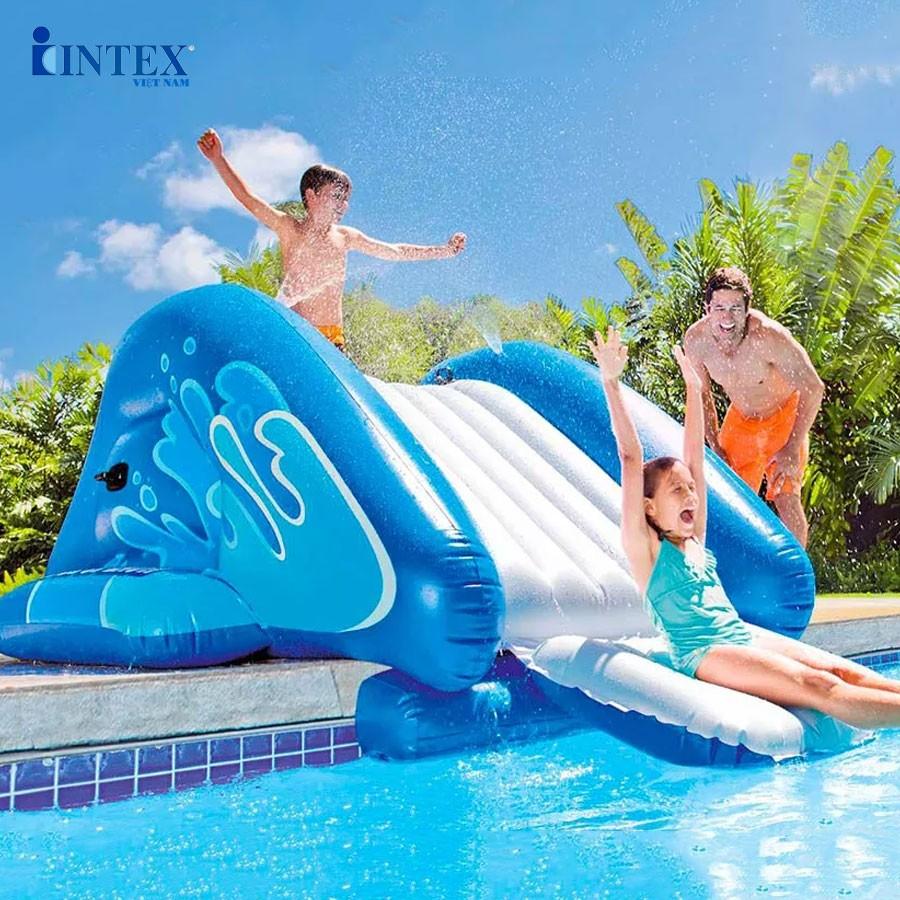 Cầu trượt phao mẫu mới INTEX 58849
