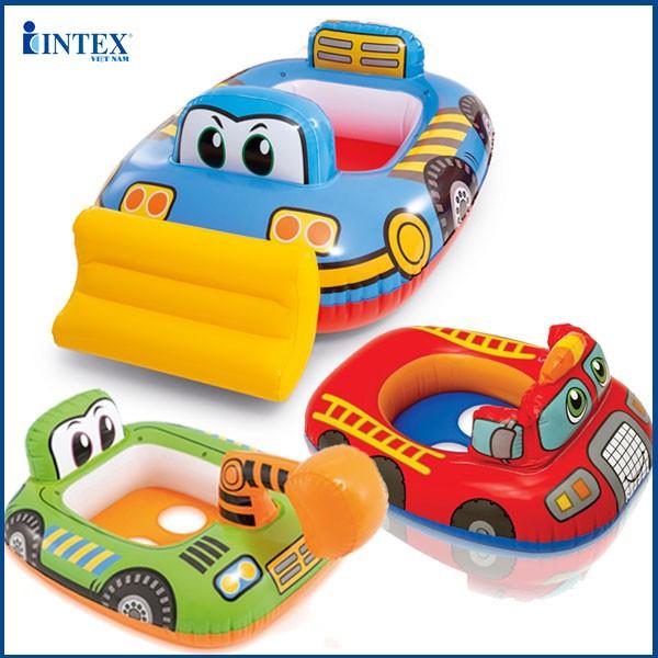Phao bơi xỏ chân hình ô tô cho bé INTEX 59586