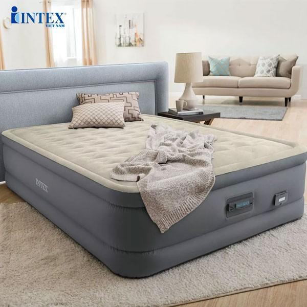Giường hơi tự phồng công nghệ PremAire 1m52 INTEX 64926