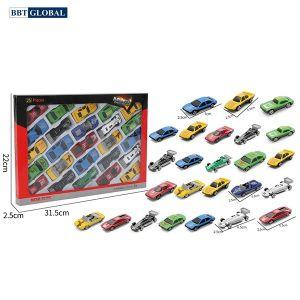 Bộ sưu tập mô hình 25 siêu xe cho bé LA-025