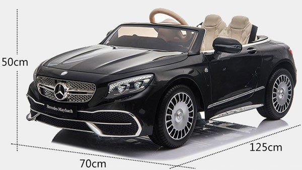 Xe ô tô điện trẻ em Mercedes Maybach S650 | Kích thước
