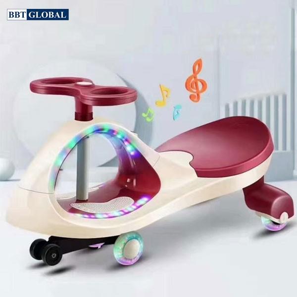 Xe lắc cho bé có đèn và nhạc BBT GLOBAL SW004