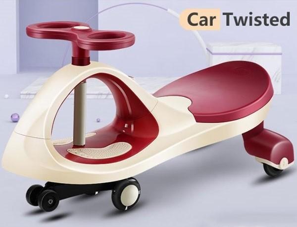 Xe lắc cho bé SW004   Màu hồng đỏ