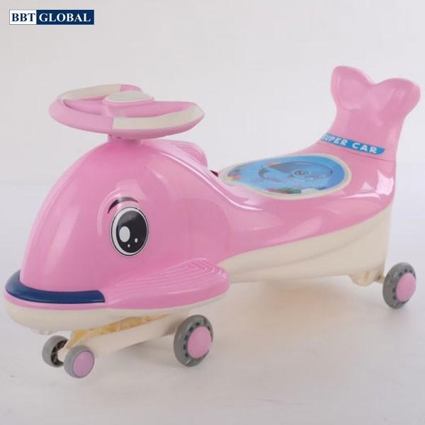 Xe lắc cho bé có đèn và nhạc BBT Global SW006