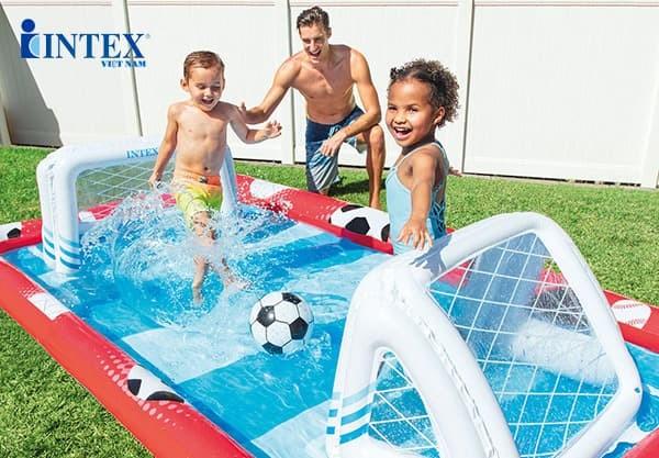 Sân chơi thể thao đa năng bơm hơi INTEX 57147 | Bóng đá
