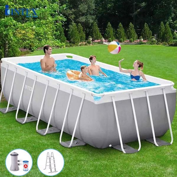 Bể bơi gia đình khung kim loại 4mx2m INTEX 26790