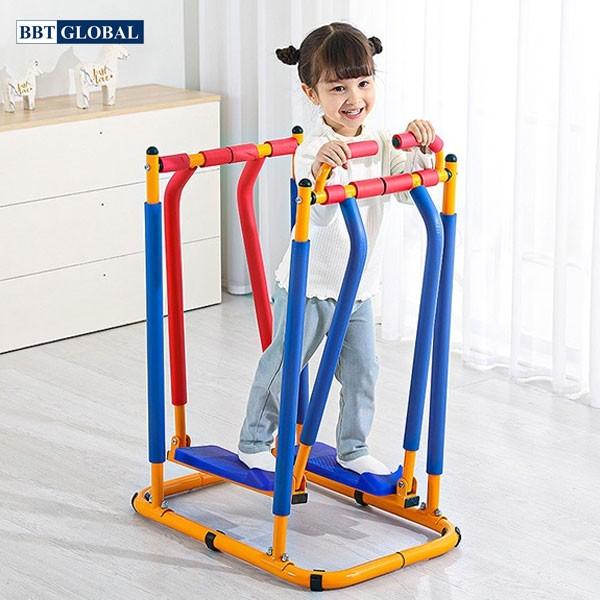 Thiết bị tập thể dục trẻ em-Máy đi bộ trên không JS005