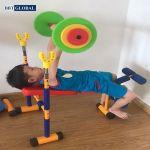 Thiết bị tập thể dục cho bé - Máy tập tạ toàn thân JS007