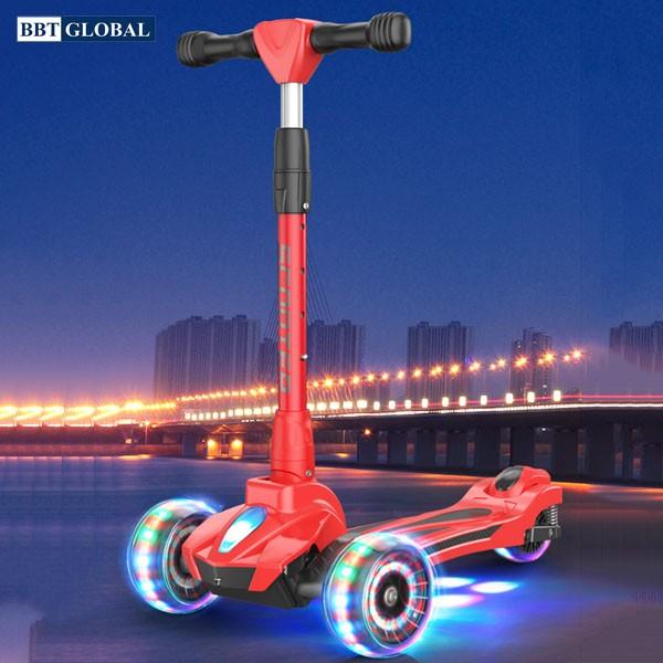 Xe trượt scooter bánh phát sáng BBT GLOBAL KM989