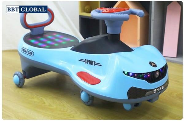 Xe lắc cho bé SW005 | Màu xanh dương