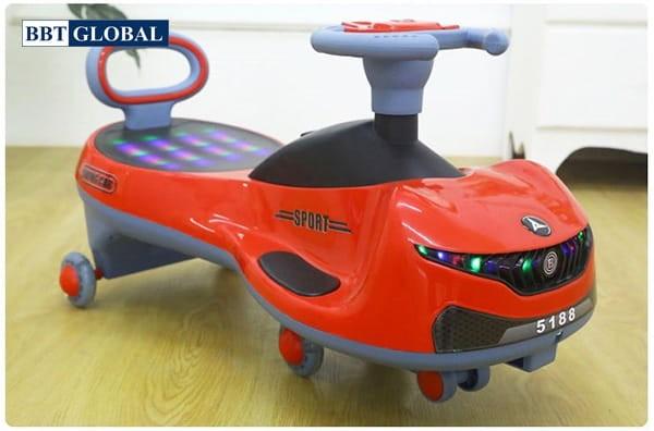 Xe lắc cho bé SW005 | Màu đỏ