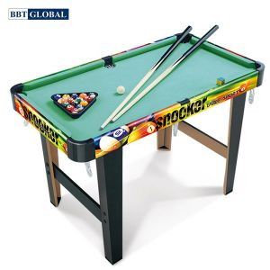 Đồ chơi bàn bi da cho bé bằng gỗ BBT Global ZC2037+2