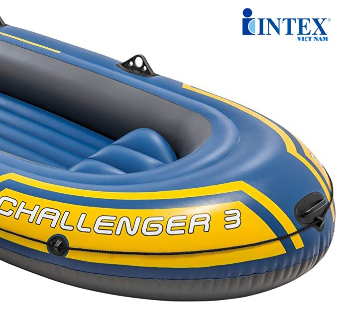 Thuyền bơm hơi challenger 3 người INTEX 68370