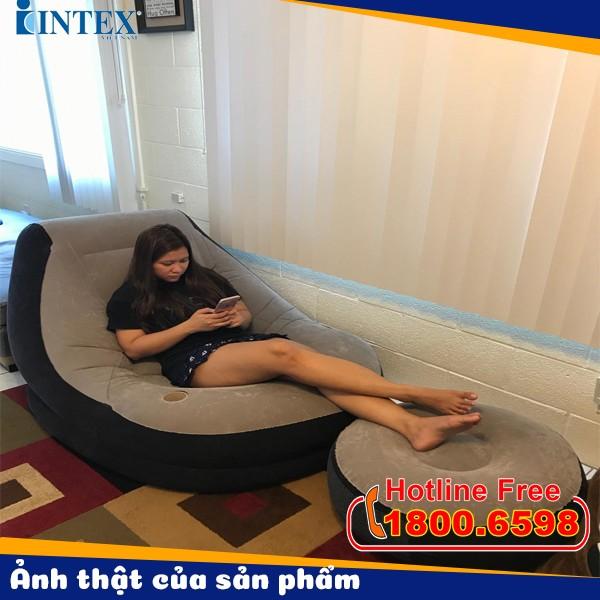 Ghế hơi tựa lưng INTEX 68564