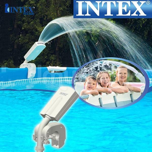 Máy phun nước nhiều màu lắp bể bơi INTEX 28089