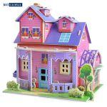 Đồ chơi xếp hình 3D ngôi nhà ước mơ cho bé LX-851