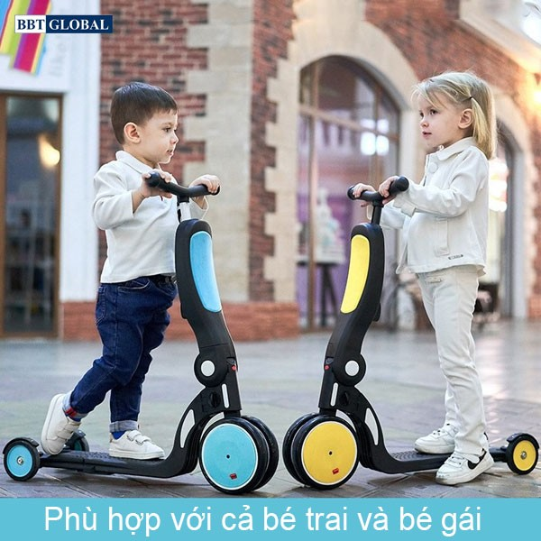 Xe trượt scooter đa năng 5 trong 1 cho bé BBT GLOBAL SK1310