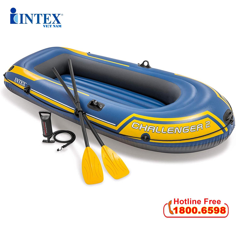 Thuyền bơm hơi INTEX Challenger 2 người 68367