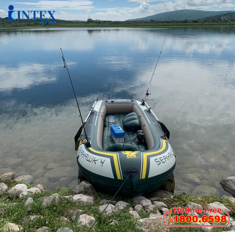 Thuyền bơm hơi INTEX 68351 - Thuyền Seahawk 4 người