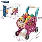 Đồ chơi xe đẩy siêu thị cỡ lớn 42 chi tiết cho bé 668-81
